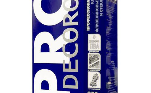 Клей для флиз.обоев Decoro PRO 250гр